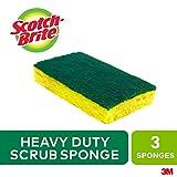 Scotch Brite HD-3 Scotch-Brite® Heavy Duty Scrub Sponge 3 Count