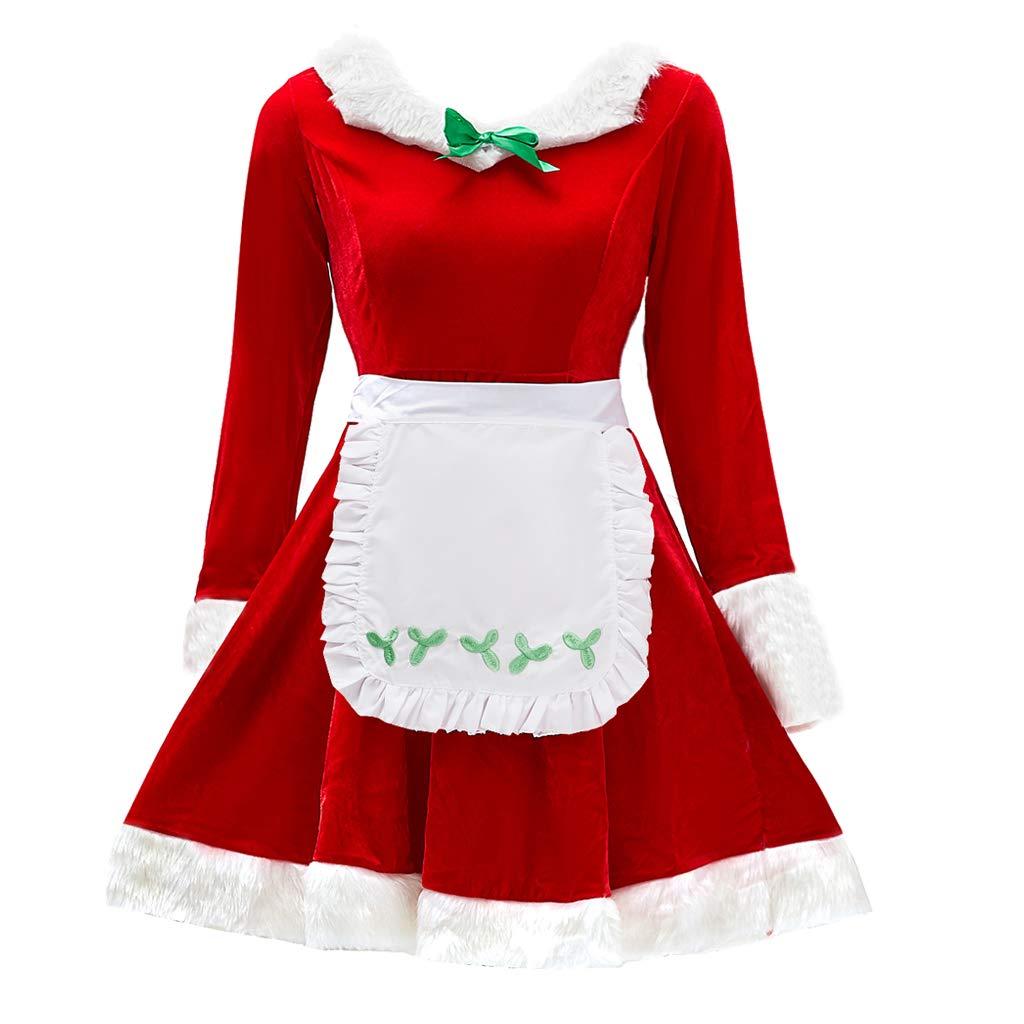 家の女性のクラウス夫人の衣装、クリスマス空想の婦人服カラフル