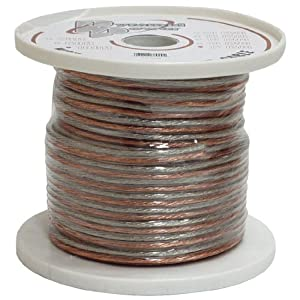 Pyramid RSW1250 12 Gauge 50 ft Spool of High Quality Speaker Zip Wire