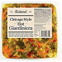 Roland Foods 芝加哥风格热泡菜, 1584.8克