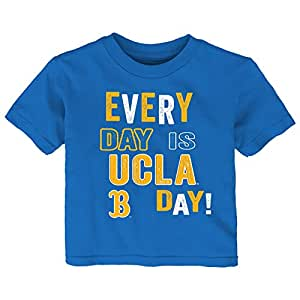 Gen 2 NCAA Bruins 幼儿日常短袖 T 恤,3T,深蓝色