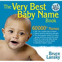 Very Best Baby Name Book (English Edition)