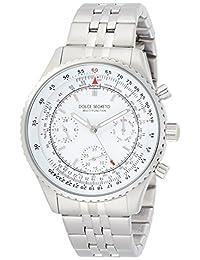 [ 彩色大 ] Dolce Segreto 手表飞行员白色表盘 mbr100wh 男式 [ 正规进口商品】