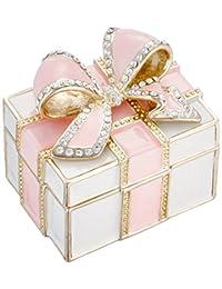 [PIEARTH] PIEARTH 首饰盒 纪念品礼物盒(粉色) EX572-1