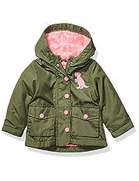 Carter's 女宝宝小动物中等重量夹克