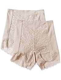 ATSUGI 厚木 短裤 3D COVER 收腹 高腰紧身短裤 〈2件装〉
