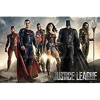 Grupo Erik 编辑海报 DC 漫画正义联盟电影所有角色