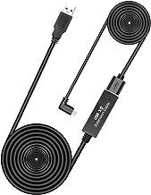 Oculus Quest Link 电缆 26 英尺(8 米),延长电缆(5 米)(无电源)带继电器放大器芯片和 USB 3.2 Gen 1 电缆(3 米)(仅电缆)