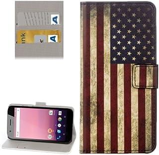 alsatek 封面美国国旗图案 PU 皮套适用于谷歌 Pixel XL