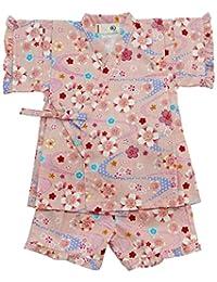 樱花图案 甚平套装 71576 日本制造 粉色 90