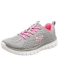 Skechers 女式 Graceful-Get Connected 运动鞋