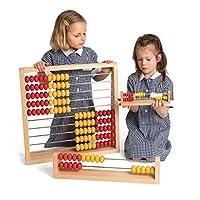 Cicada Education, KB2113C Wissensbauer Abacus,红色,黄色