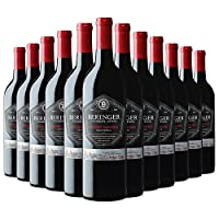Beringer 贝灵哲 创始者庄园赤霞珠红葡萄酒 750ml*12 (美国进口红酒)