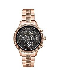 Michael Kors 迈克高仕 女士数字智能手表,不锈钢表带,MKT5052