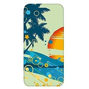 智能手机壳 TPU 印刷 对应多种机型 cw-1191top 套 椰子树 palm tree UV印刷 软壳WN-PR457462 iPhone5s 图案D