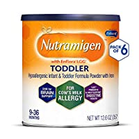 Enfamil 美赞臣 Nutramigen 安敏健 9-36个月 LGG深度水解婴幼儿配方奶粉 无乳糖防牛奶过敏 357g/罐 6罐装