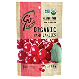 GoOrganic Organic Hard Candies, Cherry, 3.5 Ounce Bag (Pack of 6)