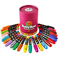 JoanMiro 美乐 儿童可水洗蜡笔 贝贝鼠丝滑旋转蜡笔 24色 JM08107
