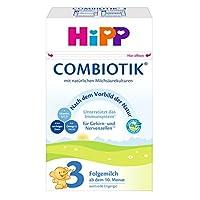 HiPP 喜寶 Bio Combiotik后續營養奶粉 適合10月齡以上的寶寶 4件裝(4 x 600 g)