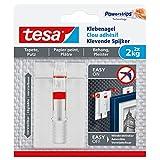 tesa 德莎粘钩,适用于壁纸和石膏,可调整,承重,2件 2x 2kg