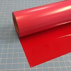 """Siser Easyweed 拉伸 38.1 cm x 7.62 cm 热烫转印乙烯基卷教练世界 红色 15"""" x 3' Siser Red"""