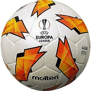 (MOLTEN) MOLTEN UEFA欧洲联盟2018-19 葡萄色条纹款 5号球 白 5号