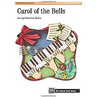 Carol of the Bells: Intermediate Piano Duet