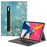 适用于 iPad Pro 11 英寸的 Fintie 键盘套 [支持 Apple 铅笔*二代充电模式]