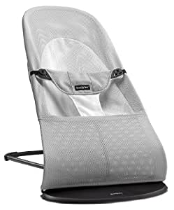 Baby Bjorn 婴儿躺椅摇椅 Bouncer Balance Soft平衡型 网眼-银白