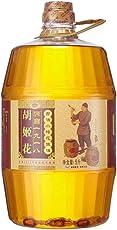 胡姬花 古法小榨花生油5L(亚马逊自营商品, 由供应商配送)
