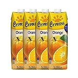 Cyprina塞浦丽娜牌橙汁1L*4(塞浦路斯进口)