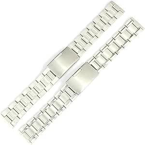 快速释放手表表带,20 毫米 22 毫米优质实心不锈钢表带替换表带