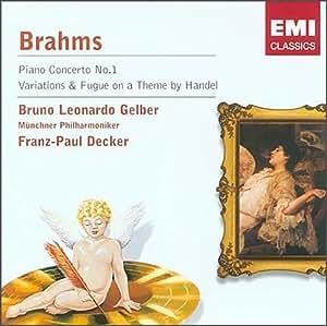 进口CD:勃拉姆斯:第1钢琴协奏曲(CD)(58686722)