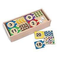 1 - 20 个自校正数字拼图 + 免费的 Melissa & Doug Scratch Art Mini-Pad 套装 [25423]