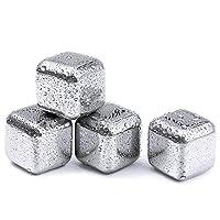 Cuisinox CUB4 可用洗碗机清洗不锈钢冰箱,一套 4 个,银色