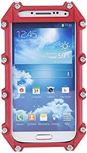 Tantrum Cases Indestructible Case for Samsung Galaxy S4 - Retail Packaging - Red