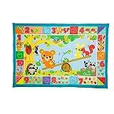 Chicco 00007945000000 XXL 森林动物玩具垫,多色
