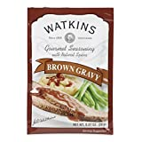 Watkins Gourmet Seasoning Mix, Brown Gravy, 0.87 Ounce (Pack of 12)