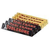 Toblerone三角 瑞士进口巧克力 瑞士三角巧克力 休闲零食 糖果 (牛奶100g*3+黑巧100g*3)