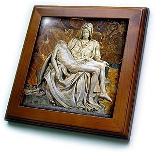 3drose ft_82096_1 italy rome Vatican st peters basilica Pieta Cindy miller hopkins 带框艺术品