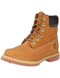 Timberland 添柏嵐 女式 明星同款戶外防水經典牛皮登山鞋大黃靴 10061