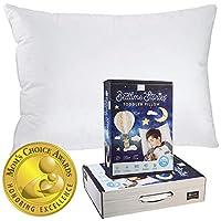 Bedtime Stories 幼儿枕头 - 800 填充力鹅绒 - 300 支 * 纯棉套 (33.02cm X 45.72cm) - 美国制造