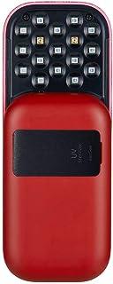 【便携*器】essGee UV 多功能*器 口袋*器 红色 10秒*长99.9%* 13个 UV LED 搭载(UV-C2个 UV-A 11个) 口罩* 智能手机* 超轻 超小型 滑动式 便携式 搭载*传感器 带支架 UV*器 无论是什么也是*...