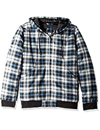 Dickies 男式现代修身绗缝飞行员衬衫夹克,