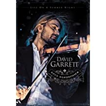 """戴维•嘉雷特 David Garrett:""""摇滚交响曲""""夏夜音乐会 Rock Symphonies-Live On A Summer Night(DVD)"""
