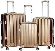 Rockland Luggage 3 件套金屬直立式套裝 青銅色 均碼