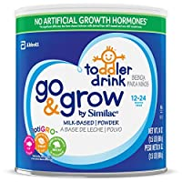 Similac 雅培 Go & Grow 婴幼儿奶粉 Large Size Powder 24 盎司(680g)(6罐装) (适用年龄:12-24月) 部分库存效期至2019年6月1日