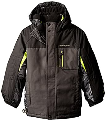 ZeroXposur Little Boys' Icepeak Systems Coat 蓝灰色 X-Large / 18-20