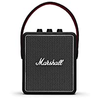 Marshall 馬歇爾 Stockwell II 便攜式藍牙揚聲器——黑色(英國)