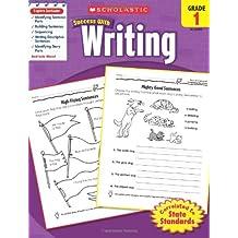(进口原版)  Scholastic Success with Writing, Grade 1